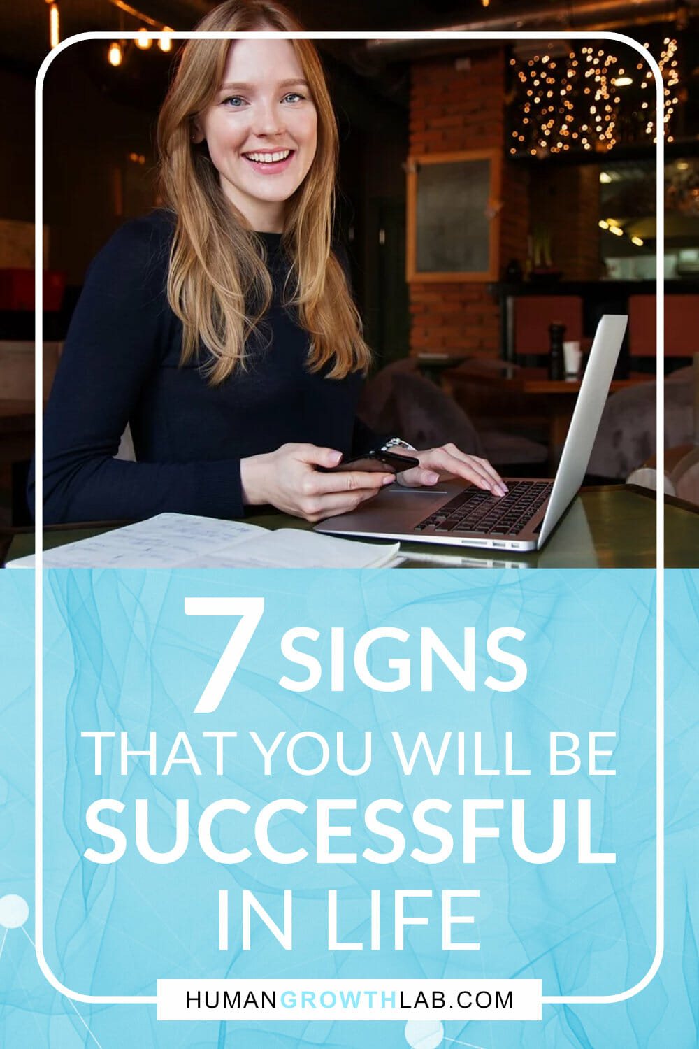 Signs of Success Pinterest image
