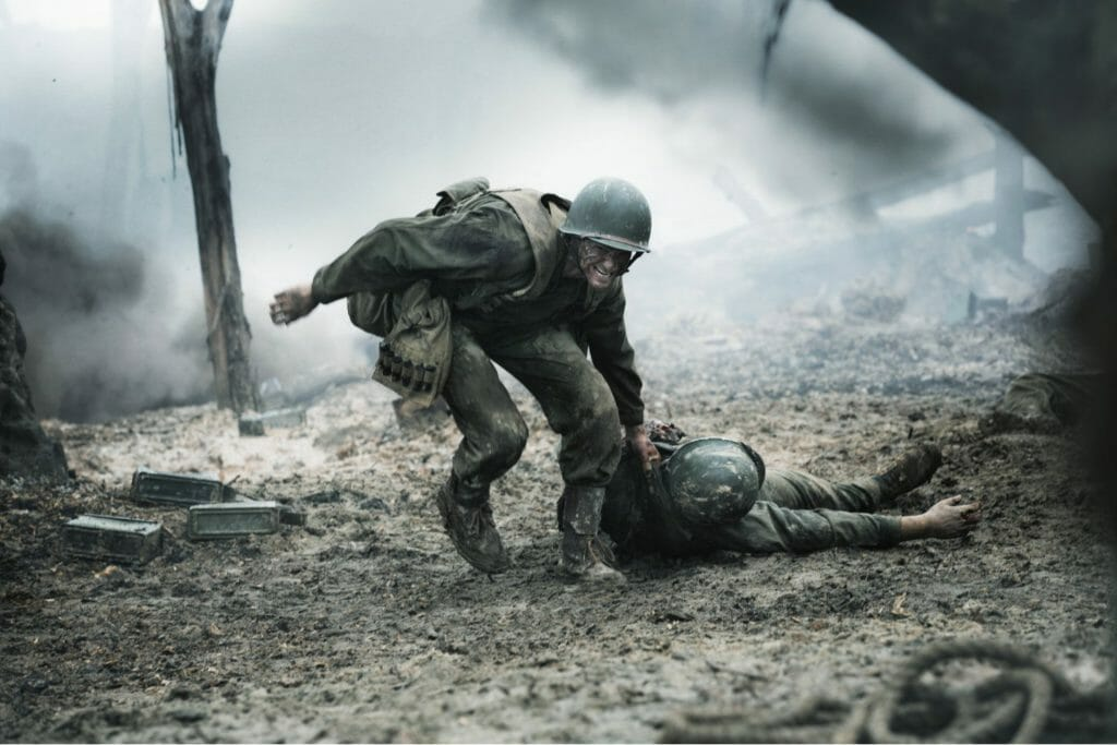 Top Unbelievably Motivational and Inspirational Stories Hacksaw Ridge still