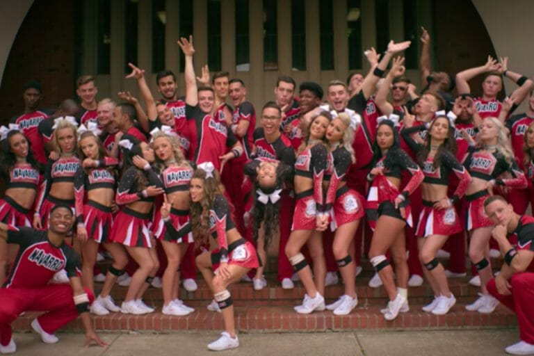 Life lessons from Netflix Cheer team photo
