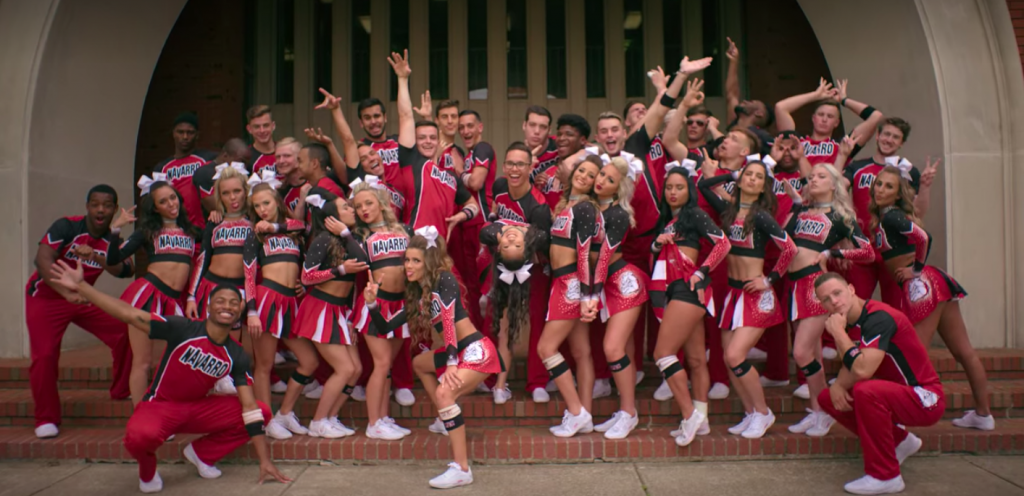 Navarro Cheer squad team photo