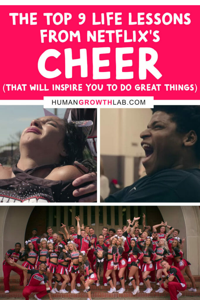 The top 9 life lessons from Netflix's Cheer that will inspire you to do great things