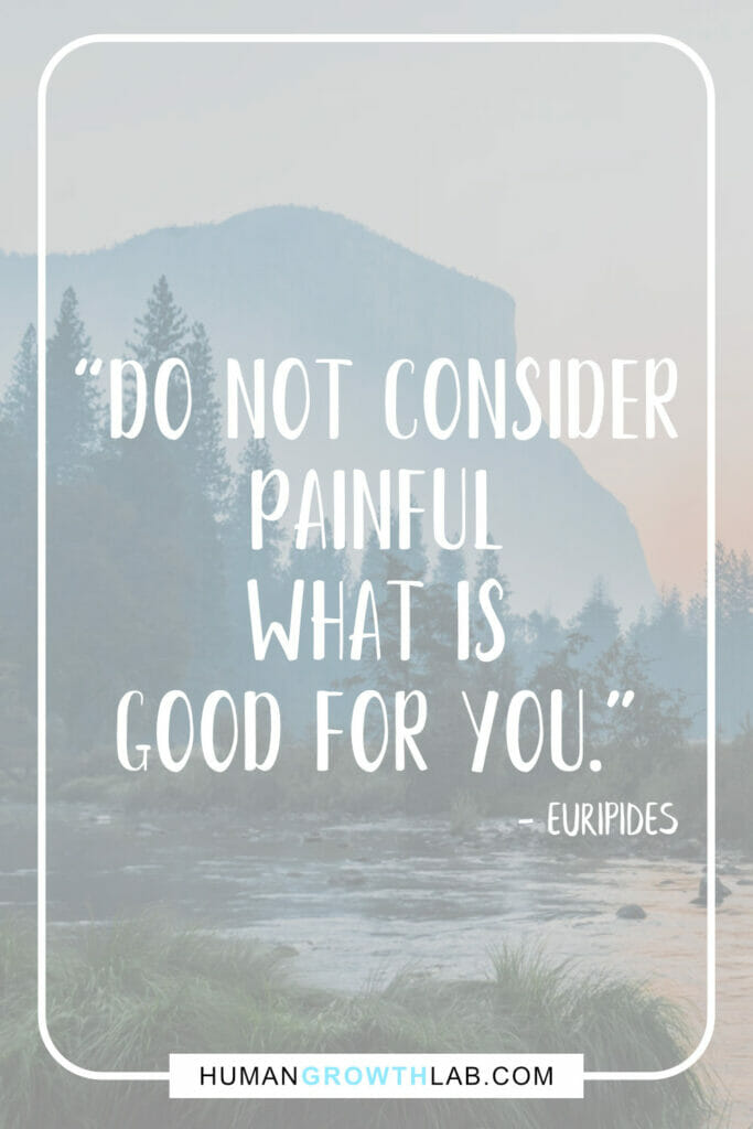 "Euripides self-discipline quotes - ""Do not consider 