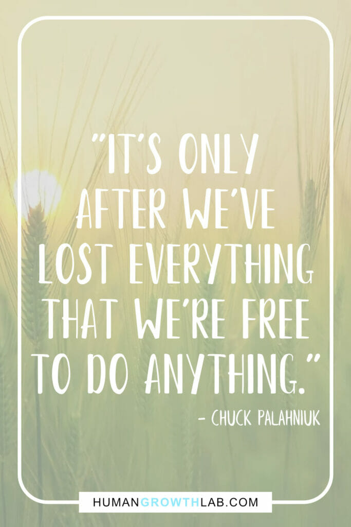 "Chuck Palahniuk quotes about life sucks - ""It's only 